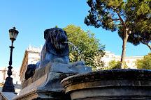Fontana Dei Leoni Egizi, Rome, Italy