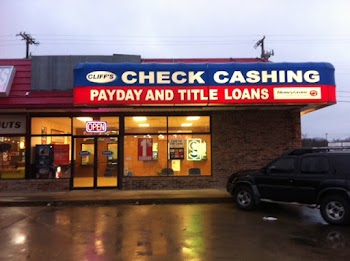 Cliff's Check Cashing #29 Payday Loans Picture