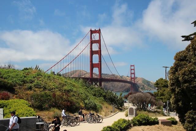 Golden Gate Bridge - Panoramic view