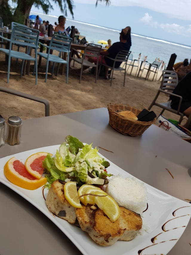 Restaurant plage varangue du lagon chez denis