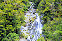Fantail Falls, South Island, New Zealand