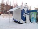 Киоск по продаже молочной продукции, улица Доватора на фото Липецка