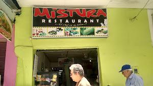 Menu Restaurante Mistura 2