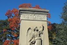 Cedar Hill Cemetery, Hartford, United States