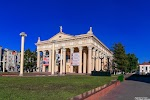 Новокузнецкий драматический театр, проспект Металлургов на фото Новокузнецка