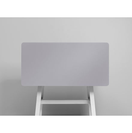 Bordsskärm Edge 1600x700 grå