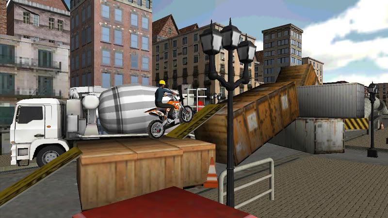 Скриншот Trial Bike: Road Works