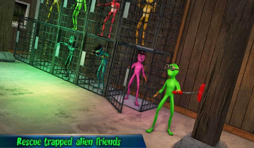 Grandpa Alien Escape Game apkpoly screenshots 13
