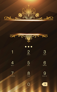 Luxury Gold Metal Theme- screenshot thumbnail
