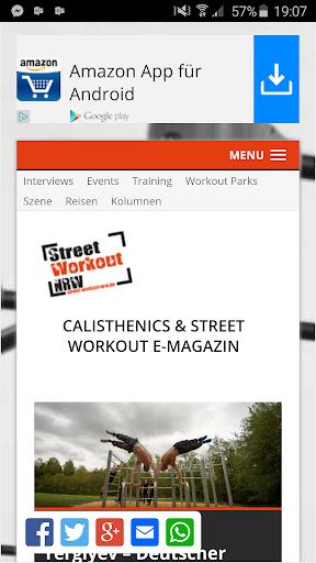 Street Workout NRW E-Magazine