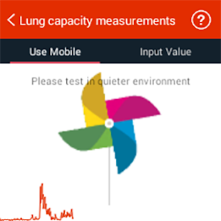iCare Lung Capacity Pro Screenshot