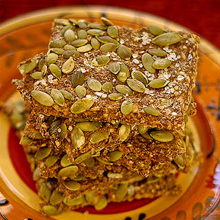 Pumpkin Seed Crackers