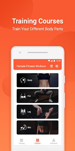 Female Fitness Workout screenshot 2