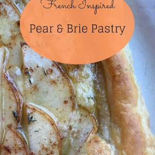 French Inspired Pear & Brie Pastry