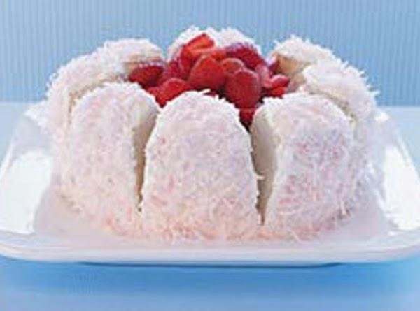 Spring Flower Cake Recipe
