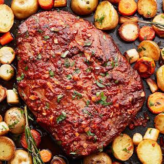 Baked Steak Potatoes Carrots Recipes.
