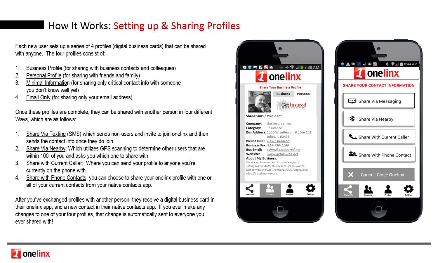 Fantastic business card sharing app photos business card ideas knocard review digital business cards webguy marketing onelinx contacts manager android apps on google play reheart Images