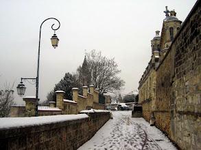Photo: Rue aux Moines sous la neige