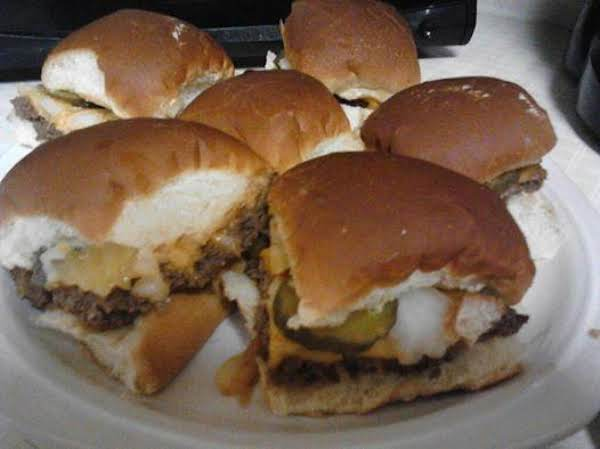 My Own White Castle Sliders Recipe