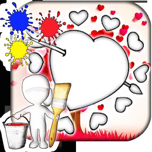 Love Coloring Book 遊戲 App LOGO-硬是要APP