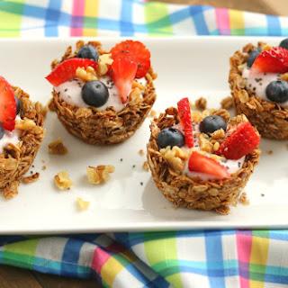 Easy Granola Cups with Fruit & Yogurt Recipe