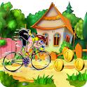 Super Racing Bike Mountain icon