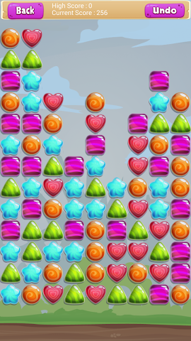 android Bonbon Drop Screenshot 1