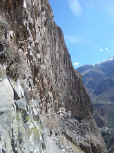 Photo: Colca-Schlucht Abstieg
