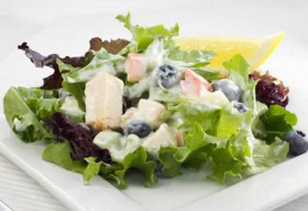 Lemon Blueberry Chicken Salad Recipe