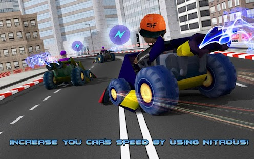Kids Police Car Racing screenshot 7