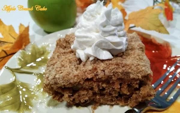 ~ Apple Awesome Crumb Cake ~