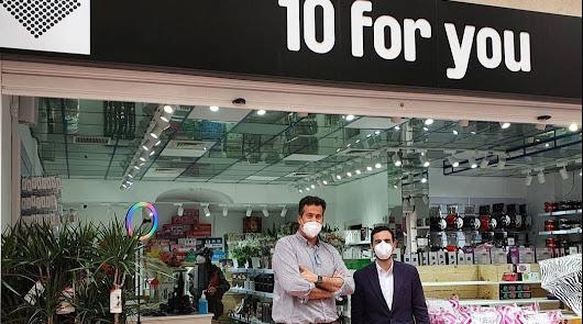 Un nuevo comercio abre sus puertas en el centro: un 'Todo a 10 euros'