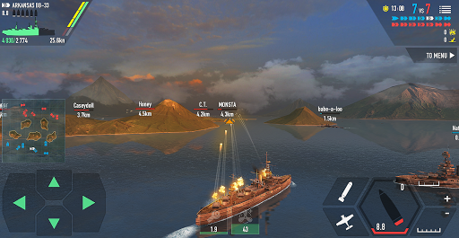 Battle of Warships: Naval Blitz  screenshots 3