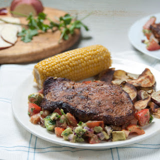 Creole Chargrilled Beef Steak With Sweetcorn & Avocado Salsa