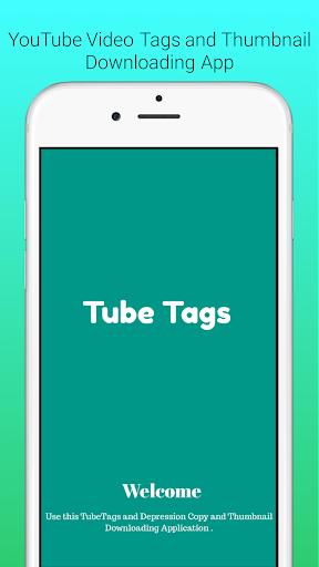 UTube Tags And Thumbnail Downloader screenshot 1