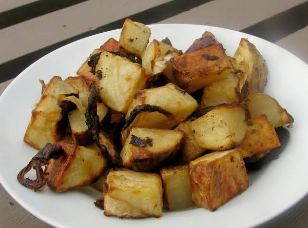 Roasted Potatoes Poupon Recipe