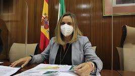 Marifrán Carazo durante una Comisión.