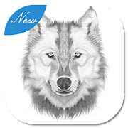 How to draw a Wolf by Zabuza icon