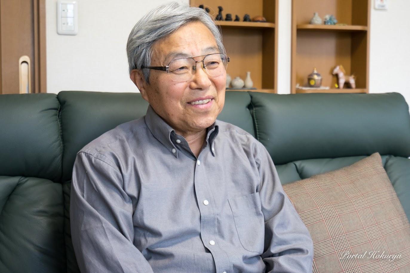 北海道拓殖短期大学名誉教授・三分一敬(さんぶいち たかし)さん