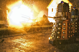 Photo: The Daleks in the Doctor Who Christmas Special 2013, The Time of the Doctor.