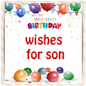 Birthday Wishes For Son icon