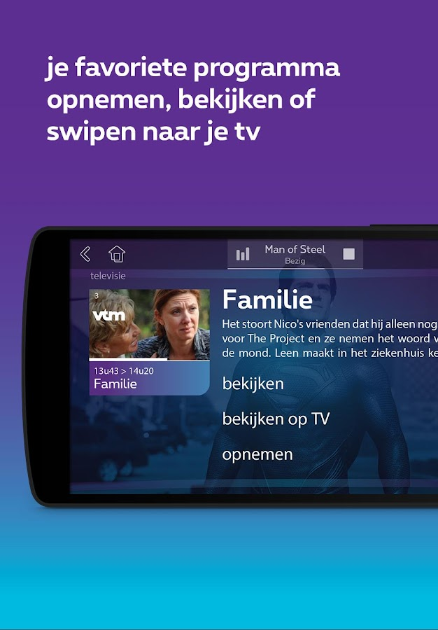 Proximus TV- screenshot