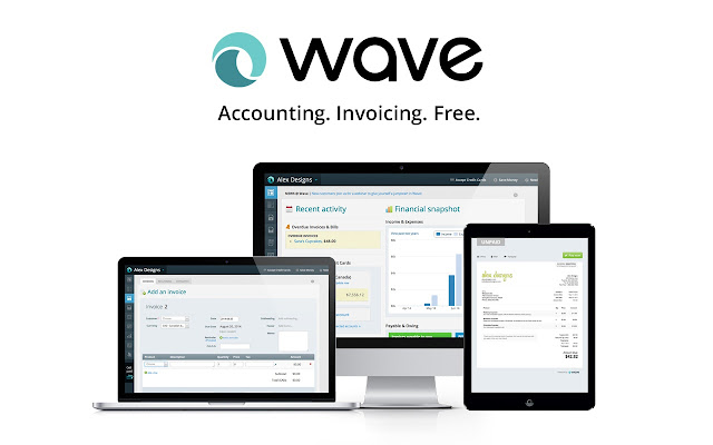 Wave Accounting Chrome Web Store - Offline invoice software