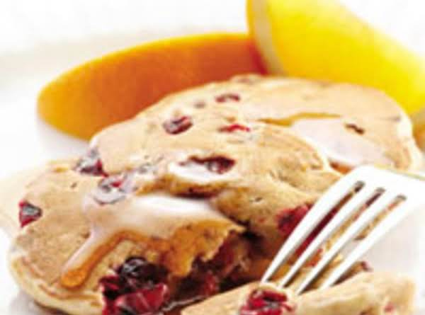 Cranberry Buttermilk Pancakes (lowfat)