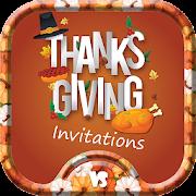 Thanksgiving Invitations & Greeting Card Maker
