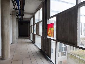 Ostatni dzień w La Tourette - ekspozycja witrażu współczesnego