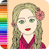 Girl Coloring Book - Coloring Book For Girls