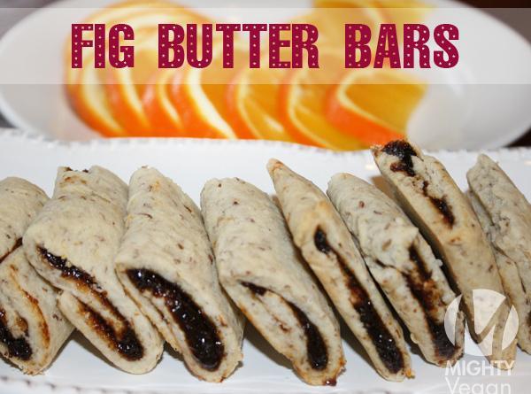 Vegan Fig Butter Bars Recipe