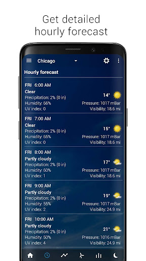 Transparent clock & weather - forecast & radar screenshot 4