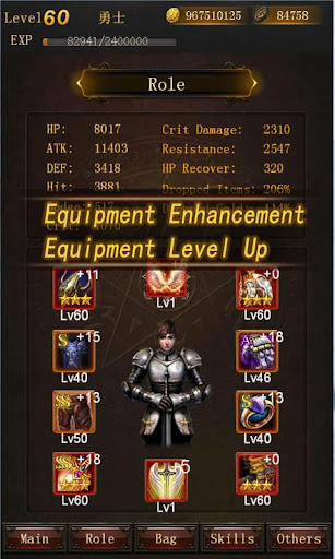 Legend of Darkness-Offline RPG 6.1 Cheat screenshots 2